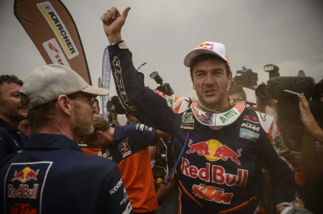 Marc Coma Takes His Fourth Career Dakar Rally Victory Marc Coma Dakar Rally KTM 30 635x422