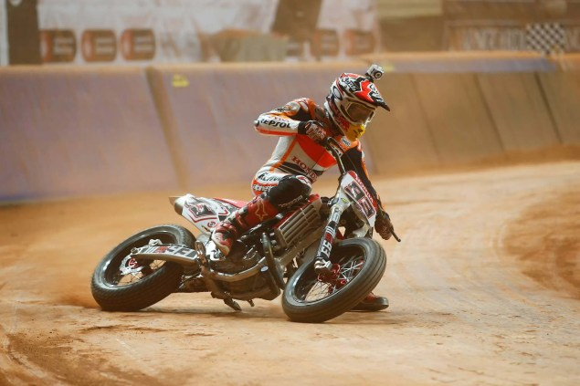Superprestigio Dirt Track Race Results   Brad Baker Wins as Marc Marquez Crashes Out Superprestigio dirt track race photos 01 635x423