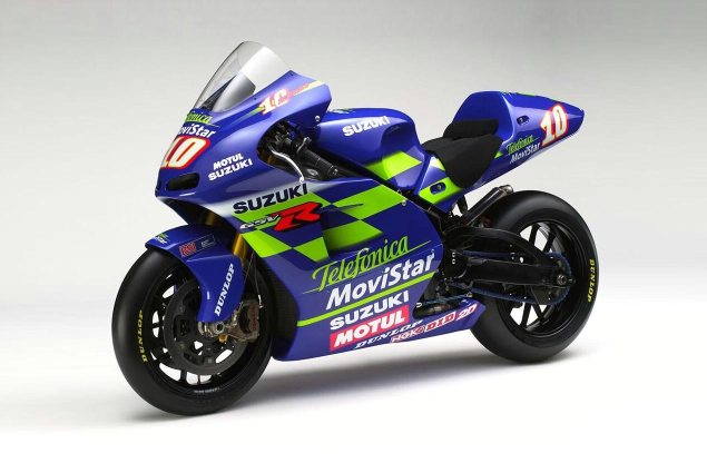 Movistar To Sponsor Yamaha Racing in MotoGP for 2014? Suzuki GSV R Telefonica 635x425