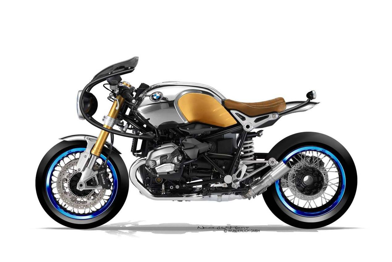 wunderlich bmw r ninet cafe racer by nicolas petit asphalt rubber. Black Bedroom Furniture Sets. Home Design Ideas