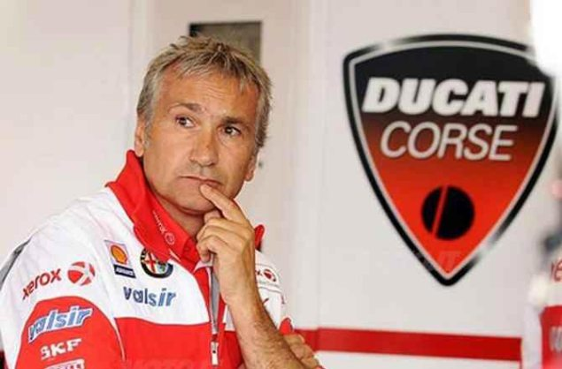 Davide Tardozzi Back with Ducati in MotoGP davide tardozzi ducati corse 635x418
