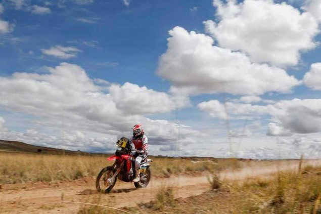 Dakar Rally   Stage 7: Barreda Chips Away at Coma joan barreda dakar rally hrc