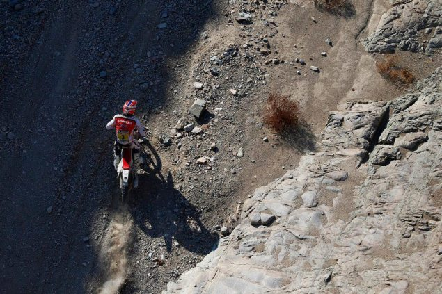 Dakar Rally – Stage 12: Joan Barreda Out of Dakar Podium joan barreda dakar rally hrc1 635x423