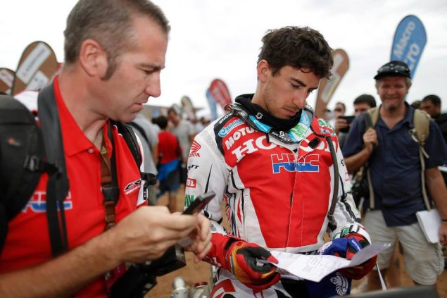 Dakar Rally – Stage 13: Fifth Stage Win for Barreda joan barreda dakar rally hrc2