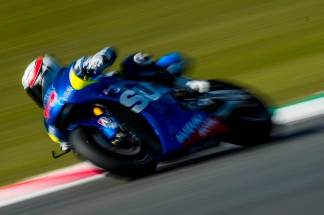 Video: Suzuki MotoGP Development Report, Part 4 randy de puniet mugello suzuki racing 04 635x423