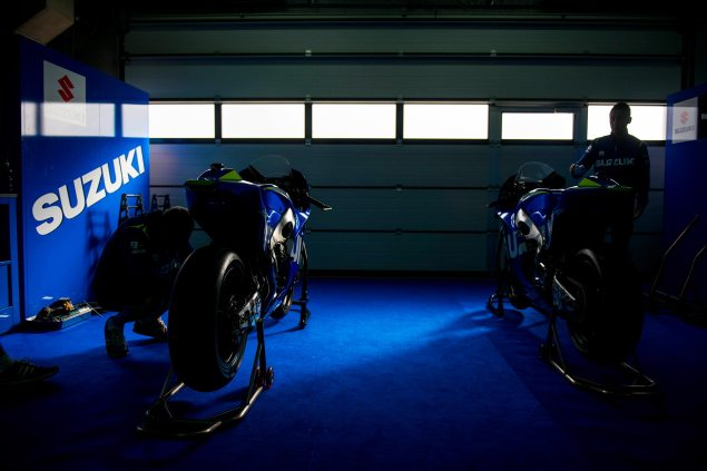 Video: Suzuki MotoGP Development Report, Part 2 suzuki motogp test aragon 635x423