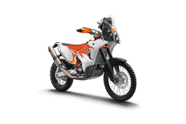 KTM 450 Rally Production Racer Now Available 2014 KTM 450 Rally production racer 01 635x425