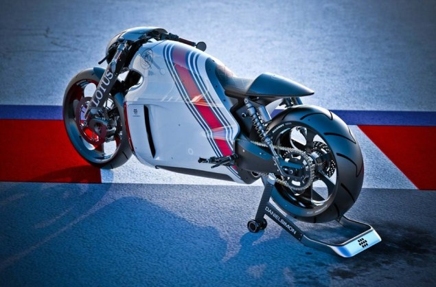 Lotus C 01 200hp Hyperbike Officially Debuts Lotus C 01 motorcycle 10 635x418