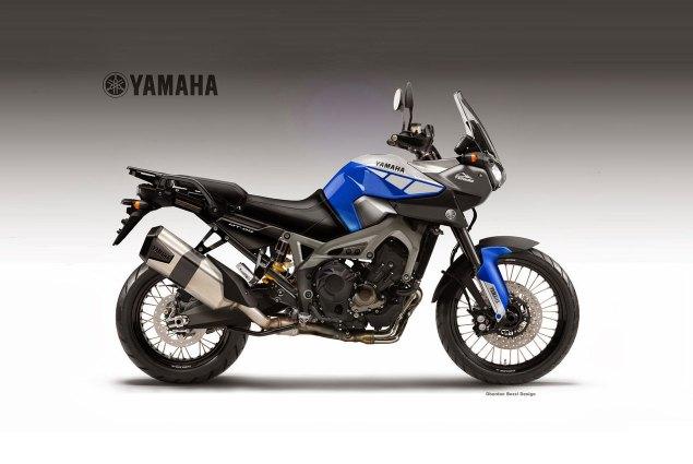 Yamaha MT 09 Ténéré Concept by Oberdan Bezzi yamaha mt 09 tenere concept oberdan bezzi 635x425