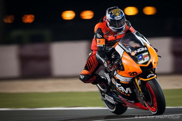 Colin Edwards Will Retire from Racing after 2014 Season 2014 Qatar GP MotoGP Friday Scott Jones 04 635x423