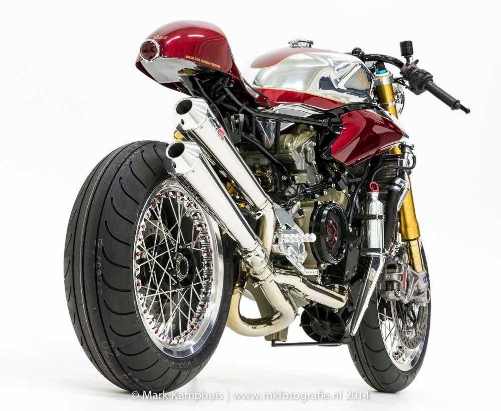 ducati elite ii caf racer by moto puro asphalt rubber. Black Bedroom Furniture Sets. Home Design Ideas