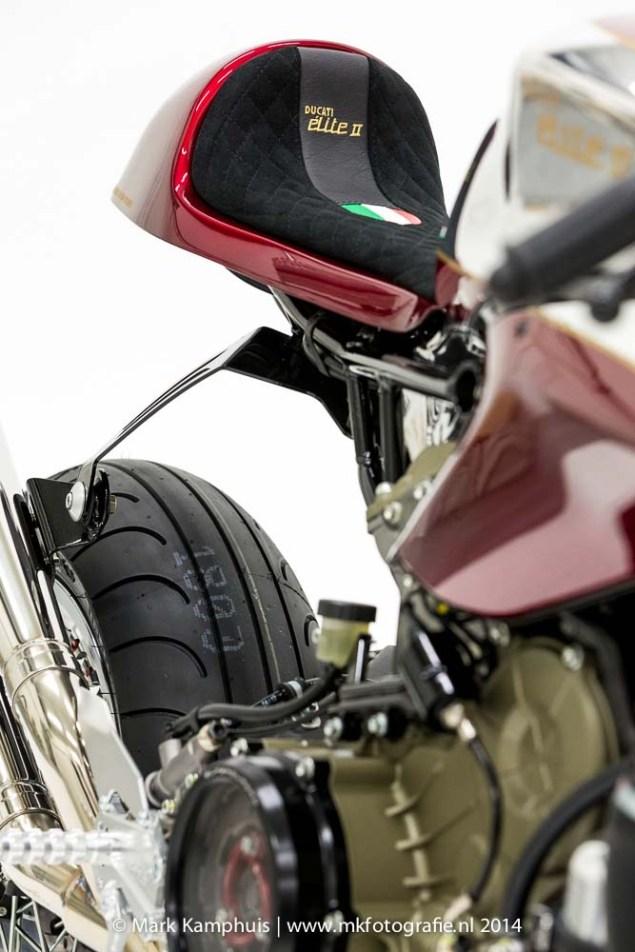 Ducati Elite II Café Racer by Moto Puro Ducati Elite II Cafe Racer Moto Puro 25 635x952