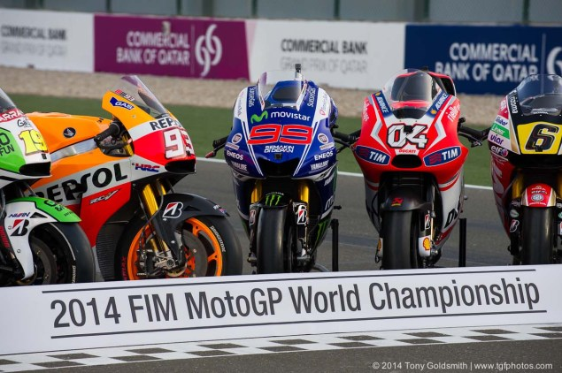 Rating the MotoGP Riders Mid Season   Part 1: The Top 8, From Marc Marquez to Andrea Iannone Living the Dream Tony Goldsmith MotoGP Qatar 02 635x422