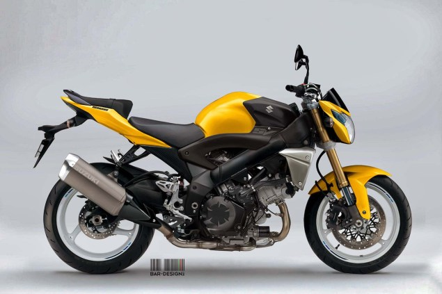 Suzuki SV1000S Concept by Luca Bar Design Suzuki SV1000N Concept Luca Bar Design 01 635x423