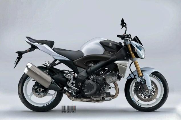 Suzuki SV1000S Concept by Luca Bar Design Suzuki SV1000N Concept Luca Bar Design 02 635x423