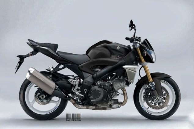 Suzuki SV1000S Concept by Luca Bar Design Suzuki SV1000N Concept Luca Bar Design 03 635x423