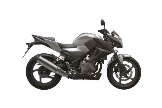Honda CB300F Single Cylinder Spotted in Trademark Docs? honda cb300f cb250f trademark 04 635x423