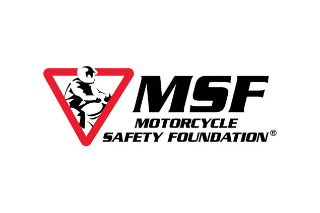 MSF Reaches Out to Hispanic Riders    Basic RiderCourse Handbook & Other Materials Available in Spanish motorcycle safety foundation logo 635x423