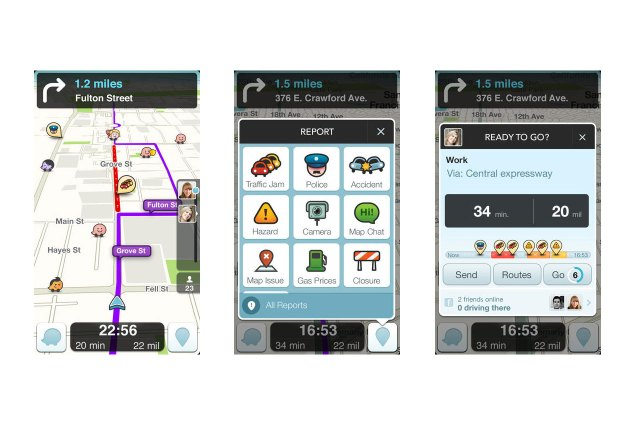 Here Are Five Essential Mobile Apps for Motorcyclists waze 635x425