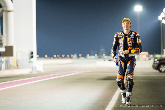 Trackside Tuesday: The Winning Personality of Jack Miller 2014 MotoGP 01 Qatar Saturday 0162 635x423