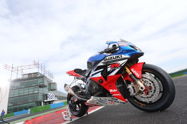 BOL D OR 2014 DAY TEST TEAM SUZUKI SERT BIKE TE TEAM