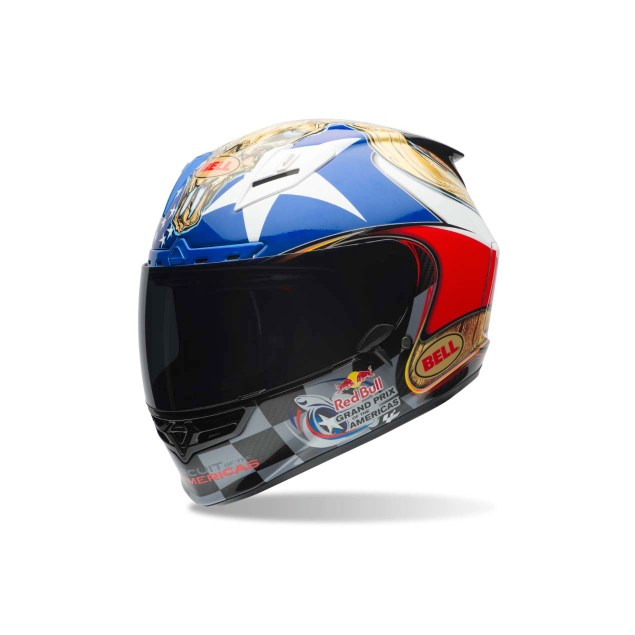 Bell & COTA Create Texas Themed Limited Edition Helmet Bell Circuit of the Americas COTA MotoGP helmet 02 635x635