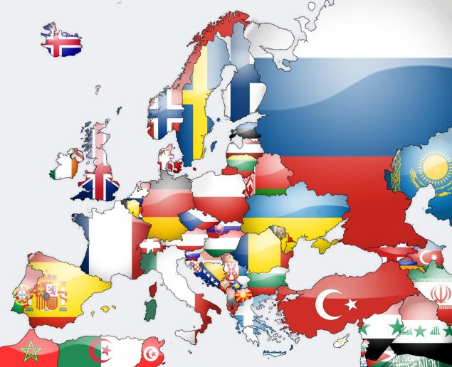 European Motorcycle Sales Show Signs of Life europe flag map lg studio 635x516