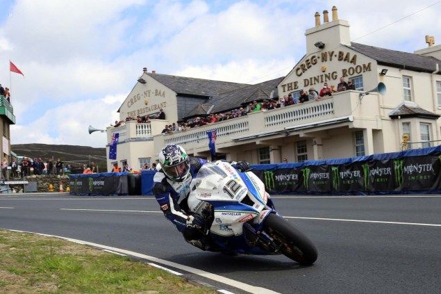 IOMTT: Creg ny Baa with Richard Mushet 2014 Isle of Man TT Creg ny Baa Richard Mushet 03 635x423