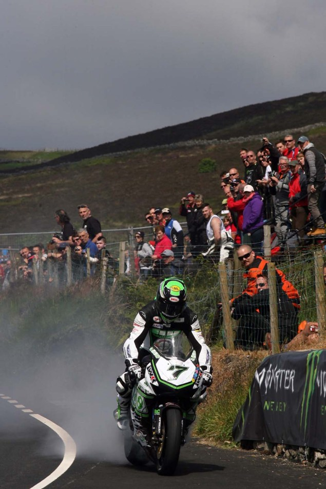 IOMTT: Creg ny Baa with Richard Mushet 2014 Isle of Man TT Creg ny Baa Richard Mushet 07 635x952