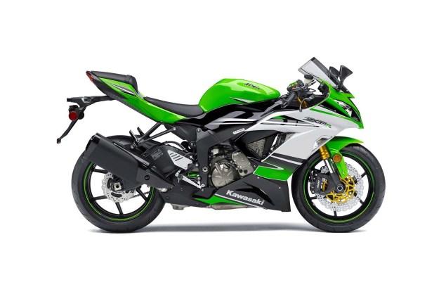 2015 Kawasaki Ninja ZX 6R 30th Anniversary Edition 2015 Kawasaki Ninja ZX 6R 30th Anniversary 04 635x425