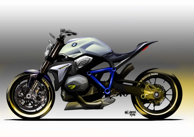 BMW Concept Roadster   Nom de Dieu! BMW Concept Roadster sketch 01 635x448