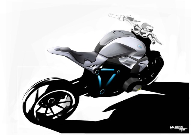BMW Concept Roadster   Nom de Dieu! BMW Concept Roadster sketch 03 635x448