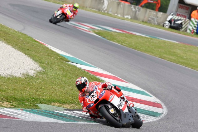 MotoGP: Ducati Corse Completes One Day Test at Mugello Ducati Corse Mugello MotoGP test 03 635x423