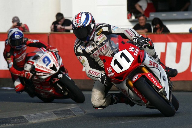 IOMTT: Quarterbridge with Richard Mushet Quarterbridge Isle of Man TT 2014 Richard Mushet 14 635x423