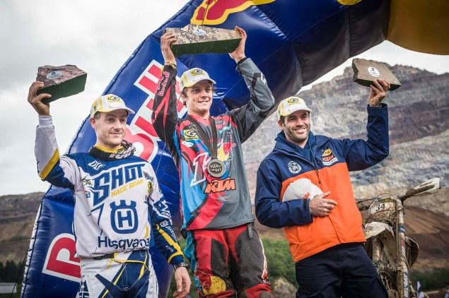 Graham Jarvis, Jonny Walker, Andreas Lettenbichler - Winners
