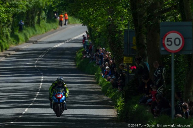 IOMTT: Ballacraine with Tony Goldsmith 2014 Isle of Man TT Ballacraine Tony Goldsmith 10 635x422