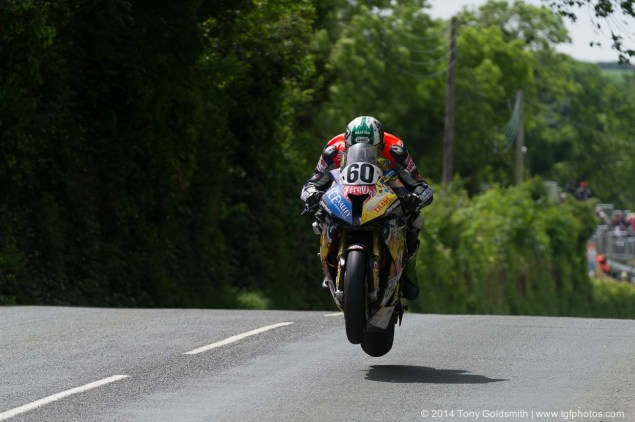 IOMTT: Ballaugh Bridge & Ballacrye with Tony Goldsmith 2014 Isle of Man TT Ballacrye Tony Goldsmith 06 635x422
