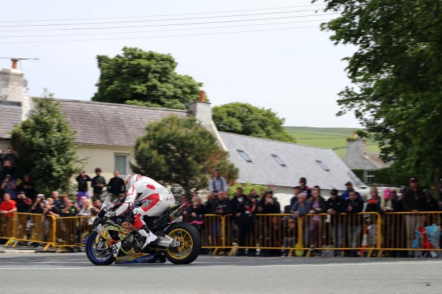 IOMTT: Ballaugh Bridge with Richard Mushet 2014 Isle of Man TT Ballaugh Bridge Richard Mushet 02 635x423