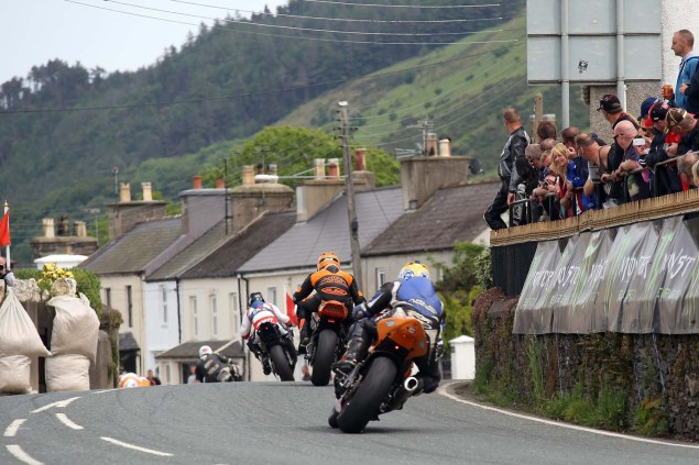 IOMTT: Ballaugh Bridge with Richard Mushet 2014 Isle of Man TT Ballaugh Bridge Richard Mushet 04 635x423