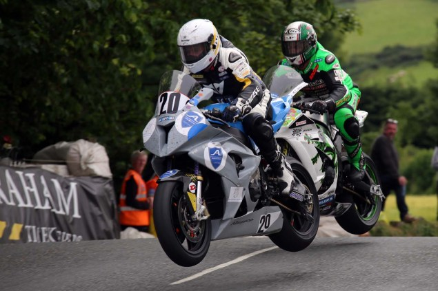 IOMTT: Ballaugh Bridge with Richard Mushet 2014 Isle of Man TT Ballaugh Bridge Richard Mushet 07 635x423