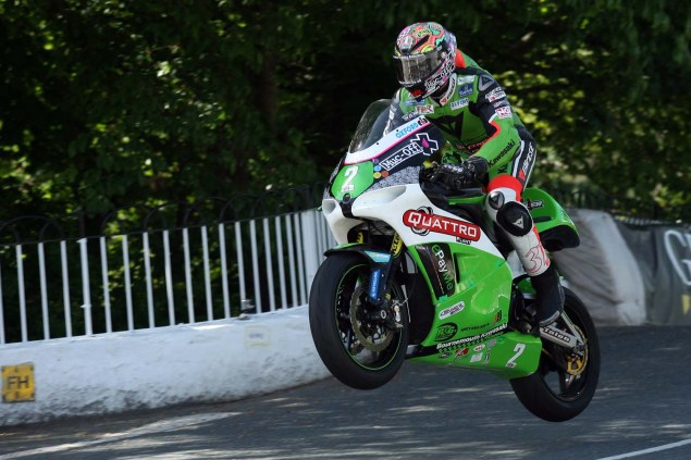 IOMTT: Ballaugh Bridge with Richard Mushet 2014 Isle of Man TT Ballaugh Bridge Richard Mushet 12 635x423