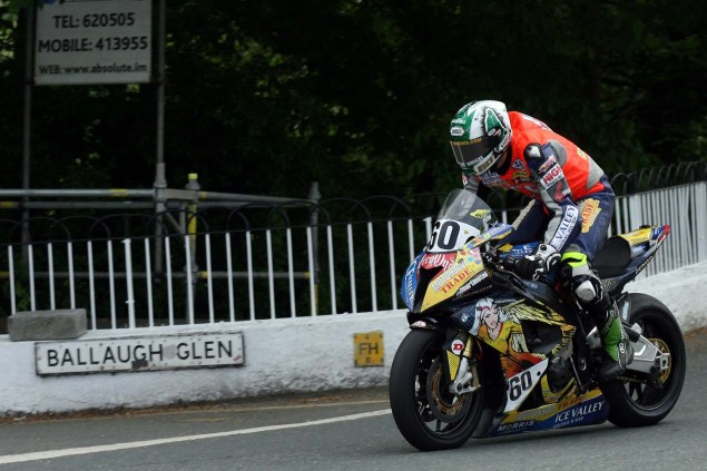 IOMTT: Ballaugh Bridge with Richard Mushet 2014 Isle of Man TT Ballaugh Bridge Richard Mushet 15 635x423