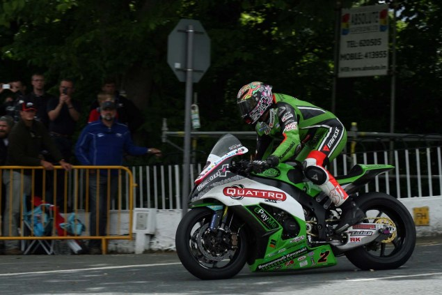 Video: Kawasaki at the Isle of Man TT 2014 Isle of Man TT Ballaugh Bridge Richard Mushet 23 635x423