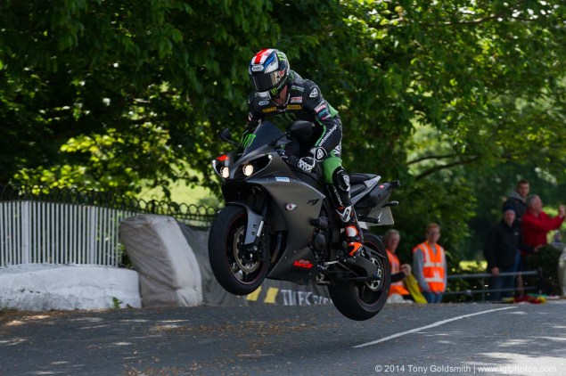 IOMTT: Ballaugh Bridge & Ballacrye with Tony Goldsmith 2014 Isle of Man TT Ballaugh Bridge Tony Goldsmith 04 635x422