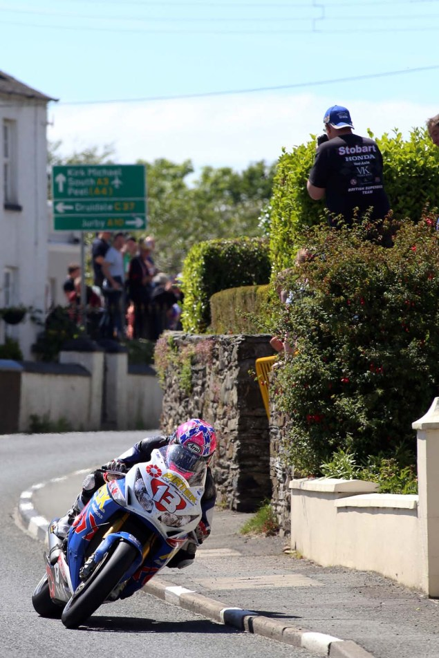 IOMTT: Ballaugh with Richard Mushet 2014 Isle of Man TT Ballaugh Richard Mushet09 635x952
