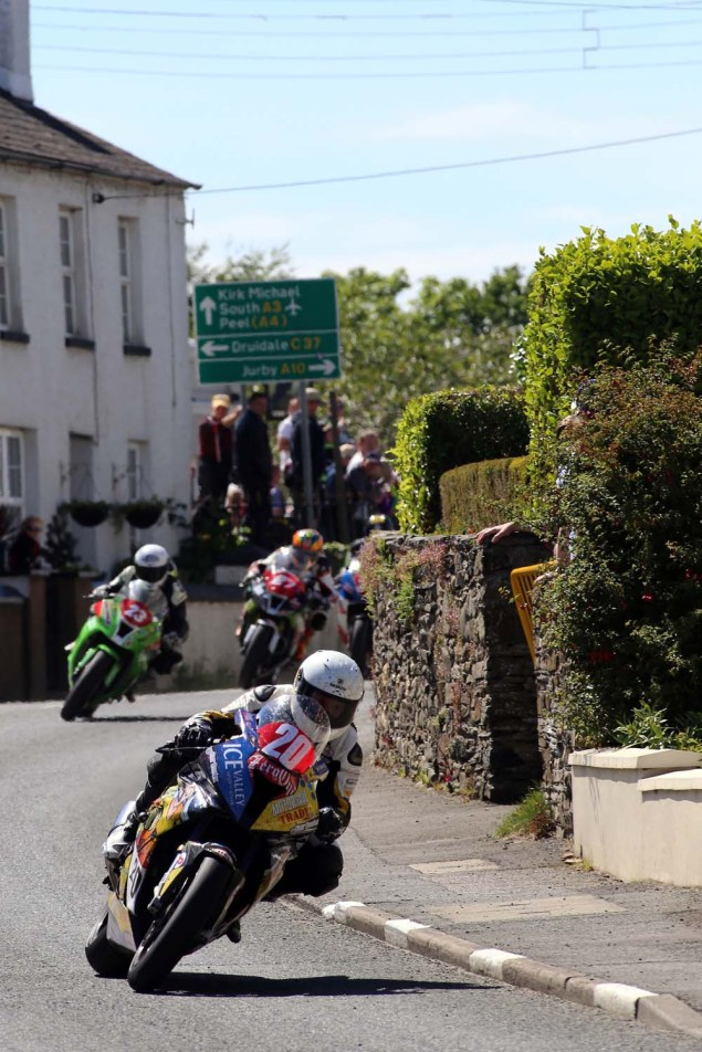 IOMTT: Ballaugh with Richard Mushet 2014 Isle of Man TT Ballaugh Richard Mushet12 635x952