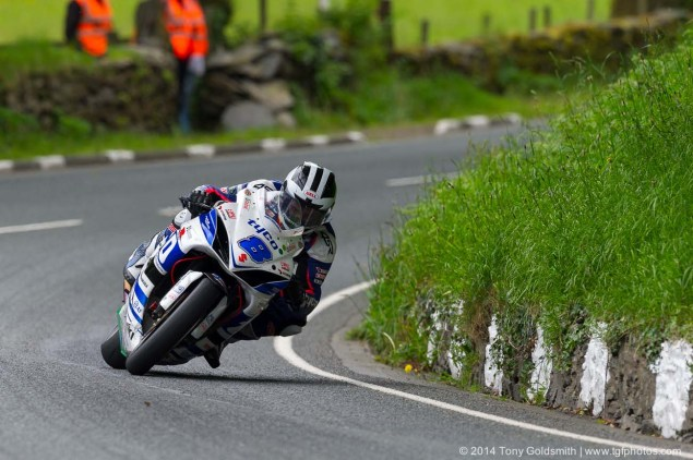 IOMTT: Glen Helen with Tony Goldsmith 2014 Isle of Man TT Glen Helen Tony Goldsmith 59 635x422
