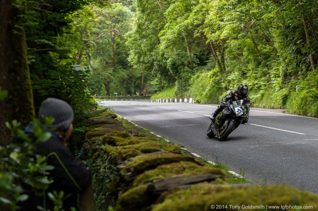IOMTT: Glen Helen with Tony Goldsmith 2014 Isle of Man TT Glen Helen Tony Goldsmith 66 635x422
