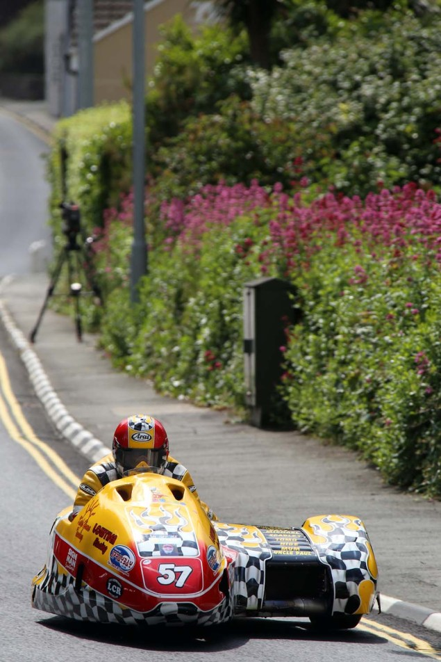 IOMTT: Kirk Michael with Richard Mushet 2014 Isle of Man TT Kirck Michael Richard Mushet 03 635x952
