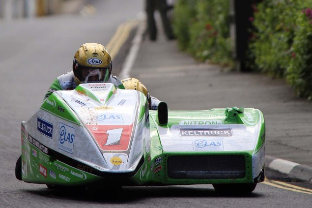 IOMTT: Kirk Michael with Richard Mushet 2014 Isle of Man TT Kirck Michael Richard Mushet 07 635x423